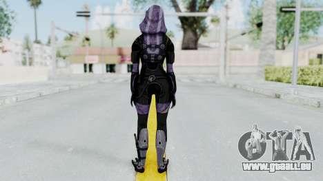 Mass Effect 3 Tali Zorah Unmasked für GTA San Andreas dritten Screenshot