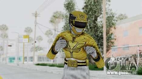 Power Rangers Megaforce - Yellow für GTA San Andreas