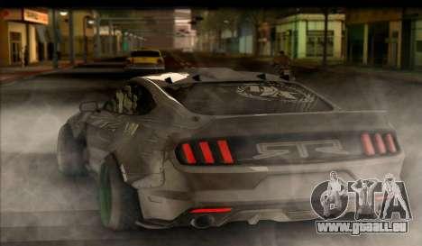 Ford Mustang RTRX Coupe pour GTA San Andreas laissé vue