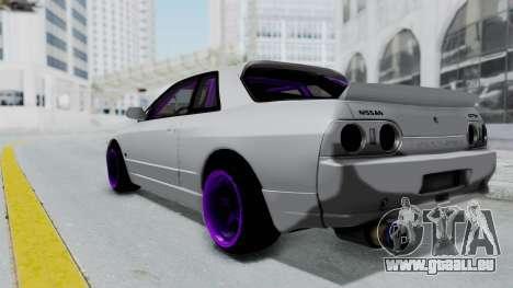 Nissan Skyline R32 Drift pour GTA San Andreas laissé vue