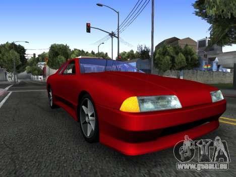 Elegy PFR v1.0 pour GTA San Andreas salon