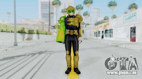Kamen Rider Beast Chameleo für GTA San Andreas zweiten Screenshot