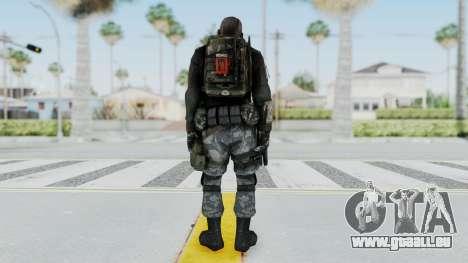 Battery Online Soldier 3 v4 pour GTA San Andreas troisième écran