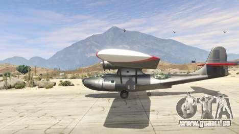 GTA 5 PBY 5 Catalina deuxième capture d'écran