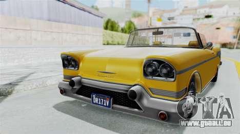 GTA 5 Declasse Tornado Bobbles and Plaques IVF für GTA San Andreas