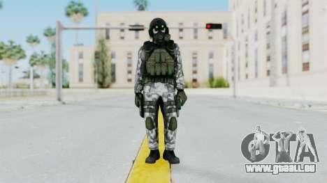 Black Mesa - HECU Marine v1 für GTA San Andreas zweiten Screenshot
