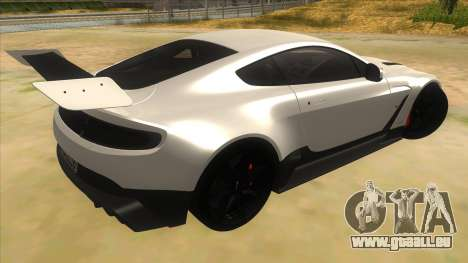 2015 Aston Martin Vantage GT12 für GTA San Andreas rechten Ansicht