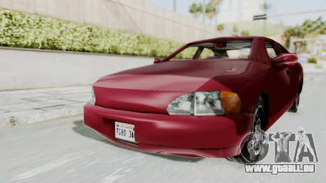 GTA 3 Kuruma pour GTA San Andreas vue de droite