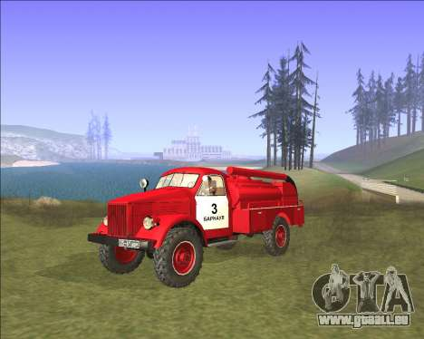 GAZ 63 moteur de Feu pour GTA San Andreas