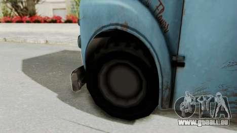 Hitman Absolution - Ice Cream Van pour GTA San Andreas sur la vue arrière gauche