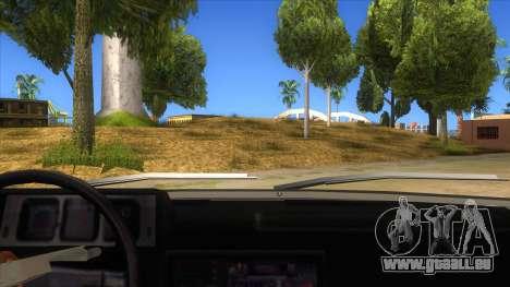 Kartal 2007 69 Serisi pour GTA San Andreas vue intérieure