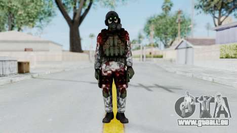 Black Mesa - Wounded HECU Marine v1 für GTA San Andreas zweiten Screenshot