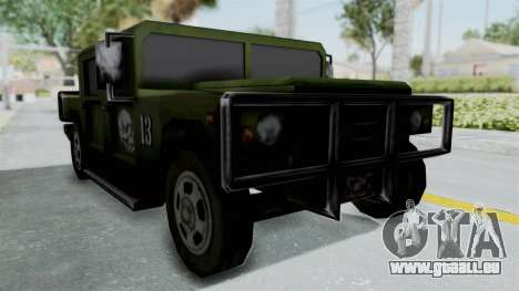 Patriot from Manhunt 2 pour GTA San Andreas