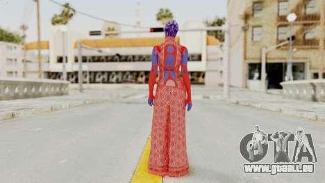 Mass Effect 3 Aria TLoak Dress für GTA San Andreas dritten Screenshot