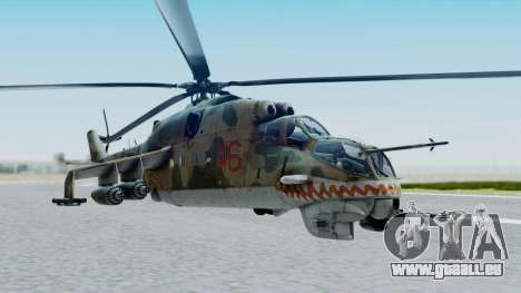 Mi-24V Russian Air Force 46 für GTA San Andreas