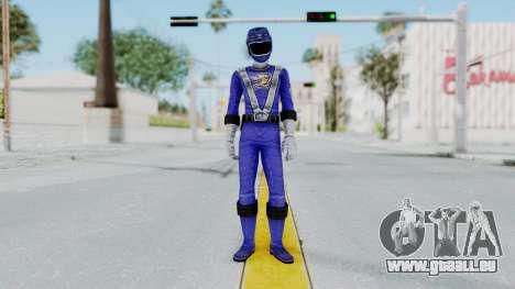 Power Rangers RPM - Blue für GTA San Andreas zweiten Screenshot