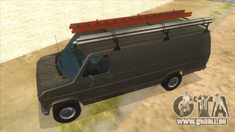 Ford E-250 Extended Van 1979 für GTA San Andreas obere Ansicht