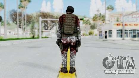 Black Mesa - Wounded HECU Marine Beret pour GTA San Andreas troisième écran