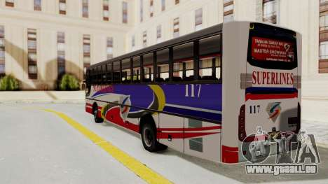 Superlines Ordinary Bus für GTA San Andreas linke Ansicht