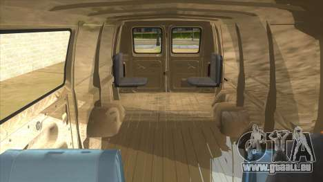 Ford E-250 Extended Van 1979 für GTA San Andreas Seitenansicht