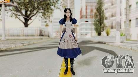 Alice Madness Returns pour GTA San Andreas deuxième écran