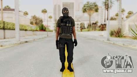 CoD AW KVA SMG für GTA San Andreas zweiten Screenshot