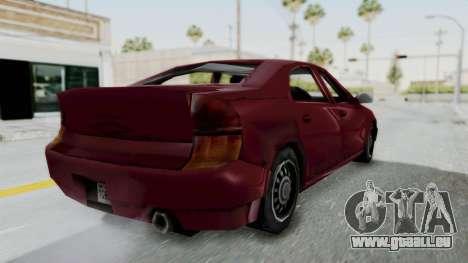 GTA 3 Kuruma für GTA San Andreas linke Ansicht