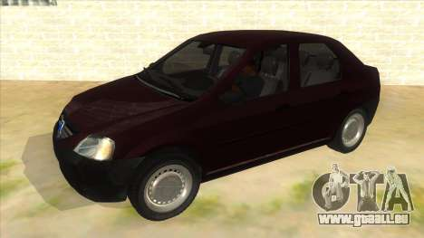 Dacia Logan V2 Final pour GTA San Andreas