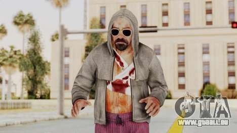 Kane And Lynch 2 - Lynch Hood Up pour GTA San Andreas