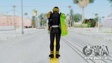 Kamen Rider Beast Chameleo für GTA San Andreas dritten Screenshot