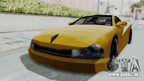 Cheetah ZTR v1 für GTA San Andreas zurück linke Ansicht
