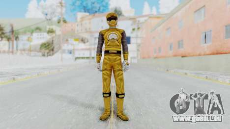 Power Rangers Ninja Storm - Yellow für GTA San Andreas zweiten Screenshot