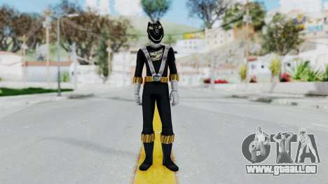 Power Rangers RPM - Black für GTA San Andreas zweiten Screenshot