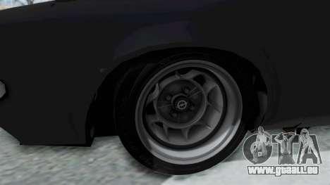 Opel Manta B1 CC pour GTA San Andreas vue arrière