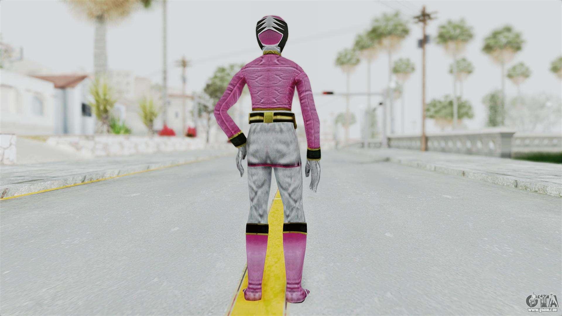 Power rangers samurai pink pour gta san andreas - Power ranger samurai rose ...