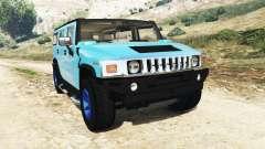 Hummer H2 2005 [teinte] v2.0