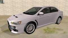 Mitsubishi Lancer Evolution X Tunable pour GTA San Andreas