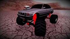 BMW M5 E34 Monster Truck für GTA San Andreas