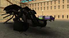 The Dark Knight Rises BAT v1 für GTA San Andreas