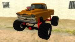 1958 Chevrolet Apache Monster Truck für GTA San Andreas