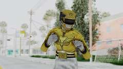 Power Rangers Megaforce - Yellow pour GTA San Andreas