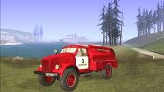 GAZ 63 moteur de Feu