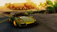 Porsche Boxster GTS LB Work