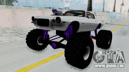 Chevrolet Camaro Z28 1970 Monster Truck für GTA San Andreas