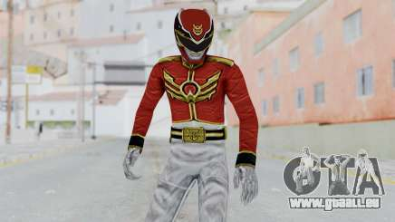 Power Rangers Megaforce - Red pour GTA San Andreas