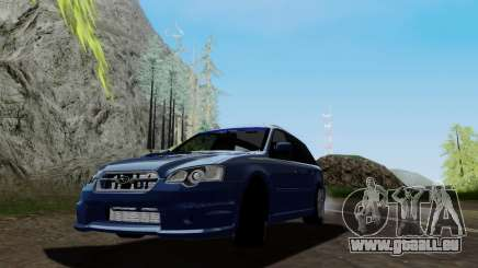 Subaru Legacy STi Wagon 2008 für GTA San Andreas