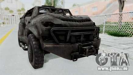 PITBULL from CoD Advanced Warfare pour GTA San Andreas