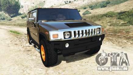 Hummer H2 2005 [teinté] v2.0 pour GTA 5