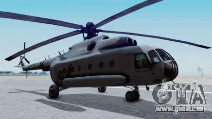 Mi-8 Croatian für GTA San Andreas
