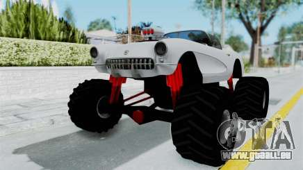 Chevrolet Corvette C1 1962 Monster Truck pour GTA San Andreas